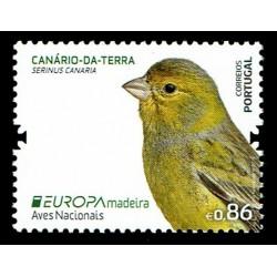 2019 Madeira Emissione Europa Uccelli