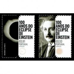 2019 Portogallo eclisse di sole di Einstein serie