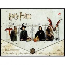 2019 Portogallo Harry Potter Foglietto MNH/**