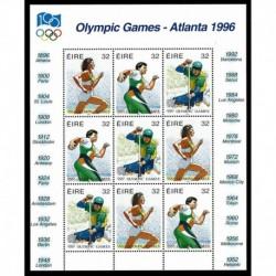 1996 Irlanda Olimpiadi estive di Atlanta minifoglio