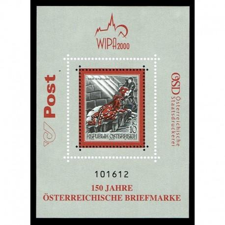2000 Austria WIPA Stroie e Leggende foglietto MNH/**