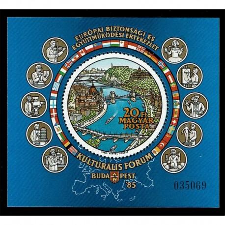1985 Ungheria KSZE Sicurezza in Europa