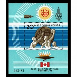 1976 Ungheria Olimpiadi di Montreal foglietto