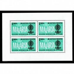 1962 Ungheria Lotta alla malaria foglietto