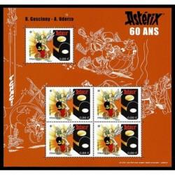 2019 Francia Foglietto Asterix 60° anniversario