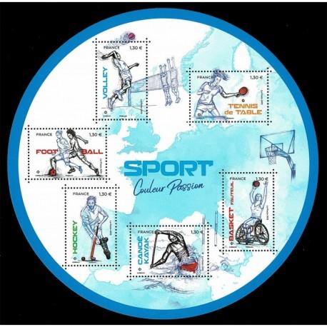 2019 Francia Sport discipline olimpiche foglietto