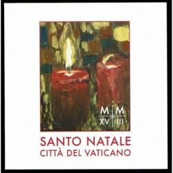 2018 Vaticano libretto Santo Natale MNH/**