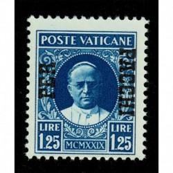 1931 Vaticano Pacchi Postali 1,25 lire Sas.9 MNH/**