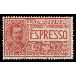 1920 Regno Espresso 50cent Sas.E4 - nuovo MNH/**
