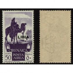 1936 Colonie Libia Posta Aerea Cirenaica Sas.27 MNH/**