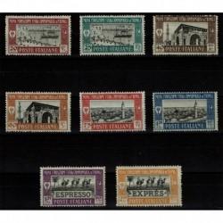1927 Colonie Libia 1° Fiera di Tripoli MNH/** + Espressi