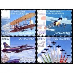 2003 San Marino primo volo a motore MNH/**