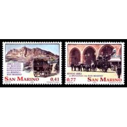 2003 San Marino le Diligenze serie MNH/**