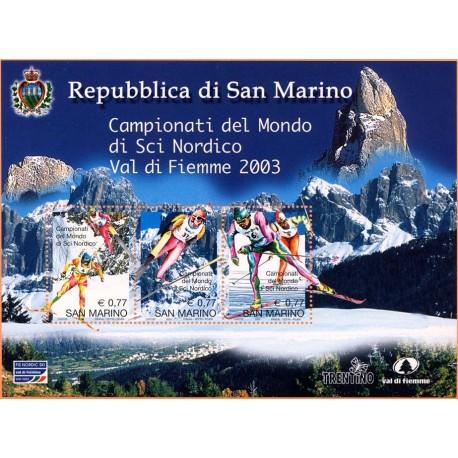 2003 San Marino Campionato mondiale di sci nordico