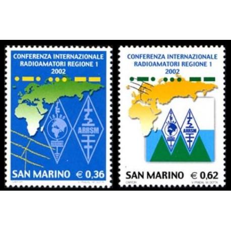 2002 San Marino Conferenza internazionale radioamatori