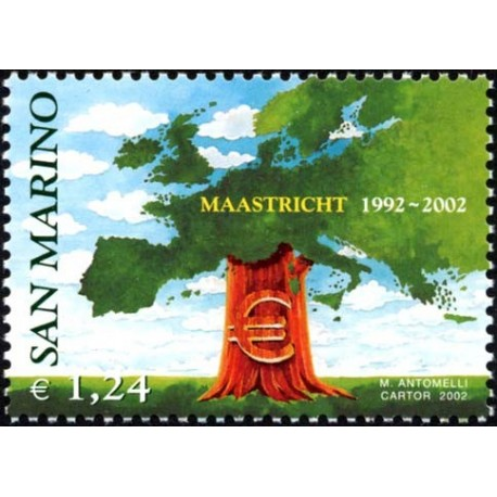 2002 San Marino trattato di Maastricht