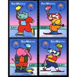 2002 San Marino Olimpiadi invernali Salt Lake City - La Pimpa