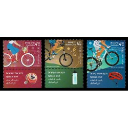 2019 Israele Andare in bicicletta MNH/**