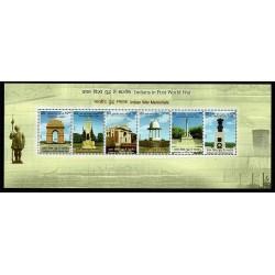 2019 India WWI Prima Guerra Mondiale - I Monumenti