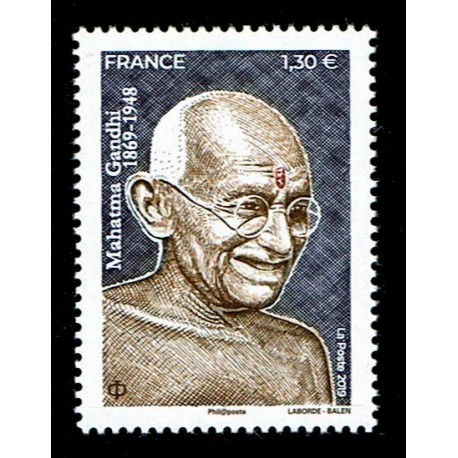 2019 Francia 150° nascita Mahatma Gandhi