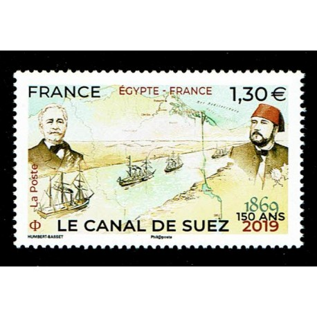2019 Francia 150° anniversario del canale di Suez