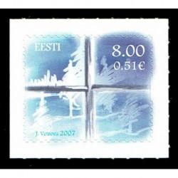 2007 Estonia francobollo per il Natale