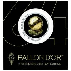 2019 Francia 64° edizione del Pallone d'Oro da collezione
