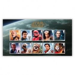 2019 Gran Bretagna Star Wars serie 10 francobolli