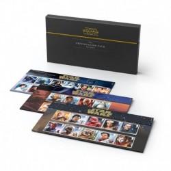 Gran Bretagna Cofanetto Trilogia francobolli Star Wars - Da collezione