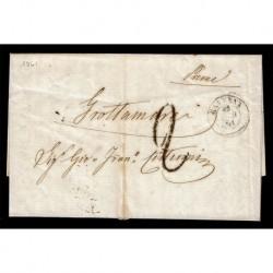 1861 Lettera completa di testo da Ravenna a Grottamare