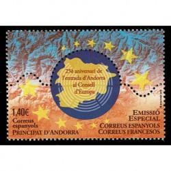 2019 Andorra Europeistici - Entrata consiglio Europeo Unusual stamps
