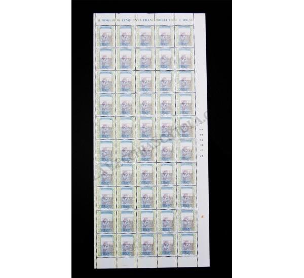 2002 Varietà Alto Valore 2,17€ - Fuori Registro
