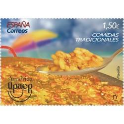 2019 Spagna UPAEP America. Cibi tradizionali - La Paella