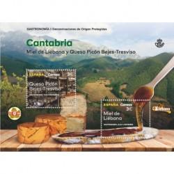 2019 Spagna Cantabria - Miele e Formaggio unusual con vernice 3D applicata