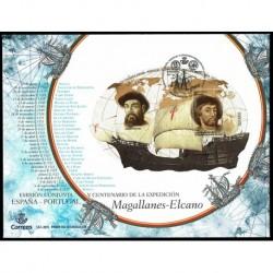 2019 Spagna congiunta Portogallo spedizione Magallanes - Elcano FDC