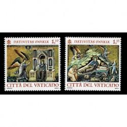2019 Vaticano Natale basilica di Santa Maria in Trastevere