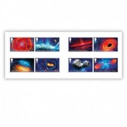 2020 Gran Bretagna Visions of the Universe - Astronomia 8 francobolli
