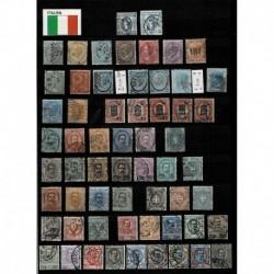 Bellissima Collezione Regno d'Italia Francobolli selezionati + Classificatore