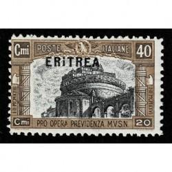 1927 Eritrea Milizia I emissione Sas.116 nuovo MNH/**