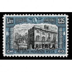 1927 Eritrea Milizia I emissione Sas.118 nuovo MNH/**