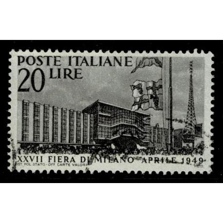 1949 Repubblica 27° fiera di Milano - usato