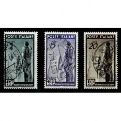 1949 Repubblica E.R:P. Ricostruzione dell'Europa serie usata