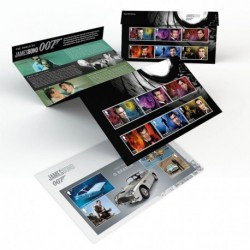 2020 Gran Bretagna James Bond 007 - Presentation Pack