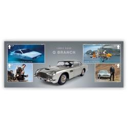 2020 Gran Bretagna James Bond 007 - Foglieto unusual
