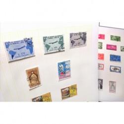 Collezione Francobolli Repubblica usata 1956/1989 completa