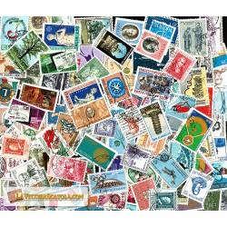 200 Francobolli Repubblica commemorativi usati
