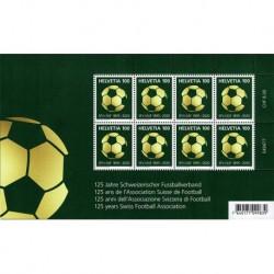 2020 Svizzera 125° Associazione di Football - Calcio minifogli