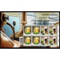 2019 Svizzera arte della birrificazione - minifoglio