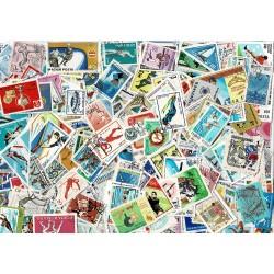 Raccolta 800 francobolli differenti tematica sport - annullati