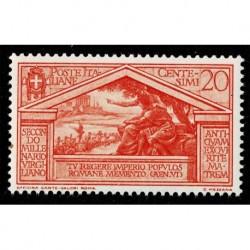 1930 Regno Bimillenario di Virgilio 20cent Sas.283 nuovo MNH/**